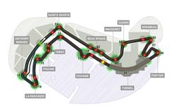 Карта на пистата в Монако