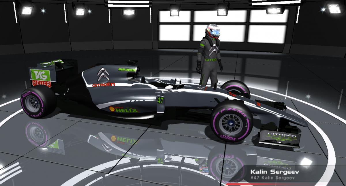 Citroen Racing F1