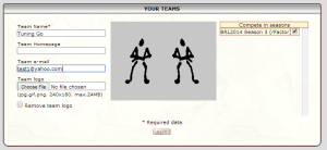create team info