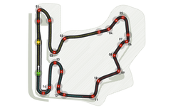 Карта на пистата Хунгароринг